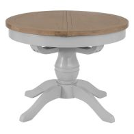 See more information about the Lighthouse Oak 1.1m Dining Table Grey